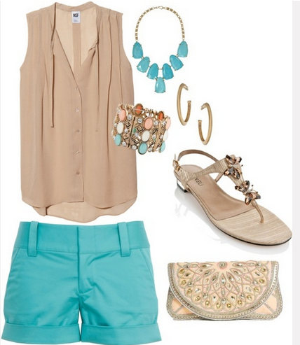 How freakin' cute is this outfit ? The color, perfect. The bubble