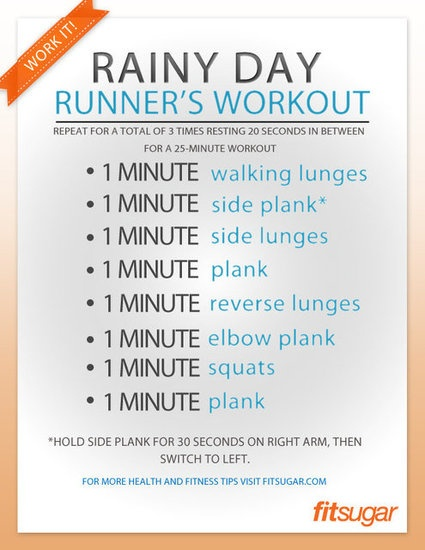 Rainy Day Runners Workout