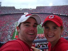 Go Buckeyes! This was my freshman year of college!