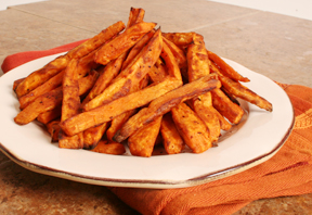 Oven-Baked-Sweet-Potato-Fries