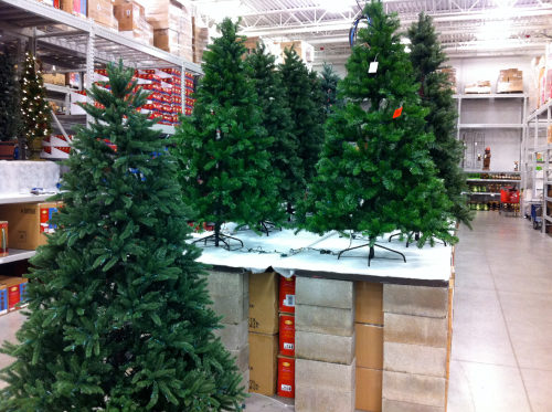 christmas-trees-at-lowes