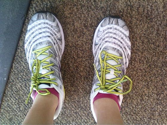 Old running shoes!