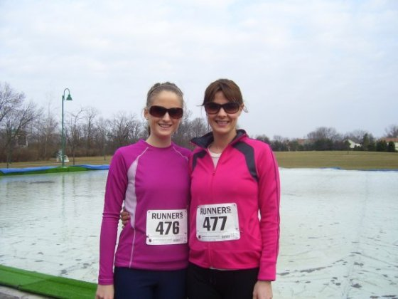 Brag photo: one of my first races lol