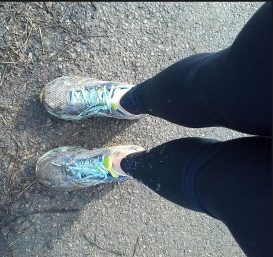 Just a tad muddy!